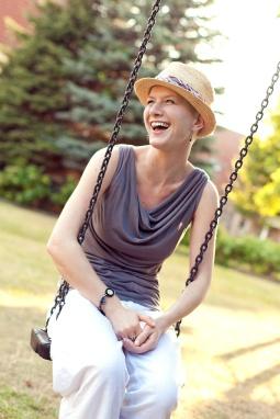 Juli 2014: Die Hälfte der Strahlentherapie ist geschafft