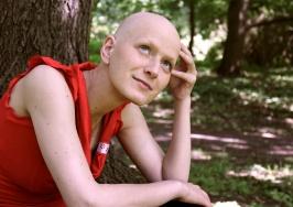 Mai 2014: 2 Wochen nach Ende der Chemo